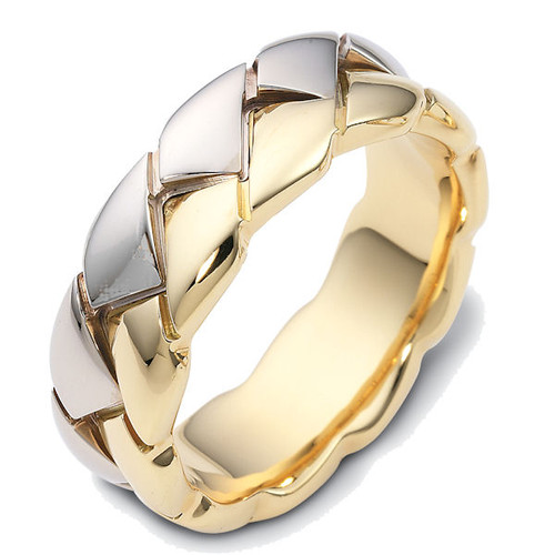 8.0MM Contemporary Wedding Ring
