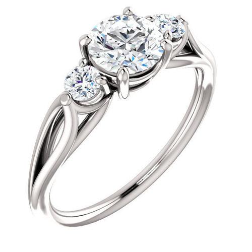 Three Stone Classic Ring