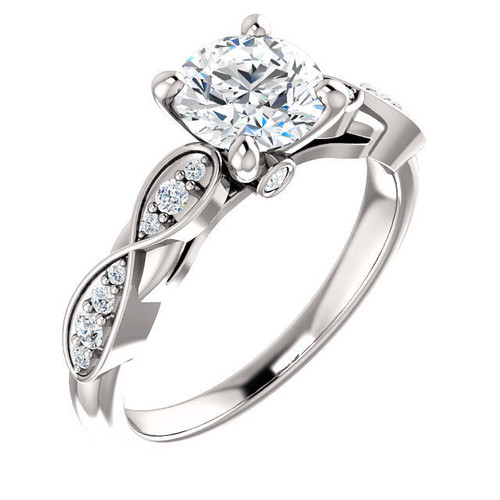 0.20 Ct Tw Diamond Engagement Ring