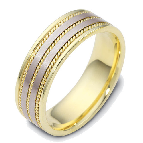 Classic Rope Wedding Ring