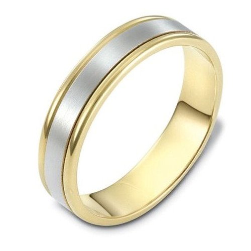Gold 5.0 MM Classic Wedding Ring