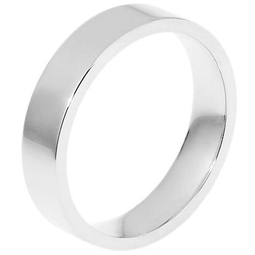 5.0 mm Flat Inside Comfort Fit Wedding Ring