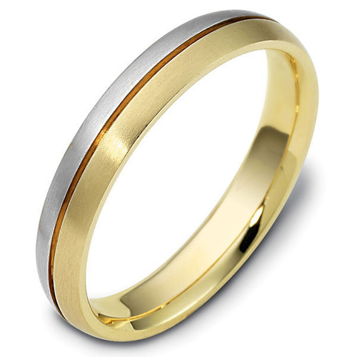 Single Grooved Classic Wedding Ring
