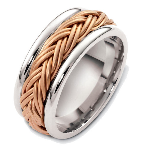 Double Braid Wedding Ring