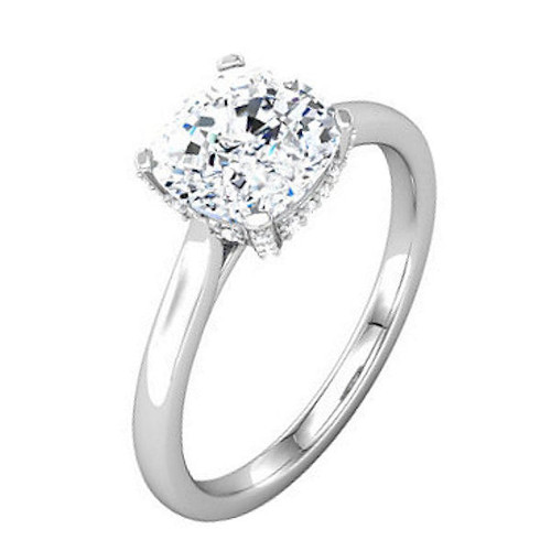 Diamond Accent, 0.10 Ct Tw, Engagement Ring