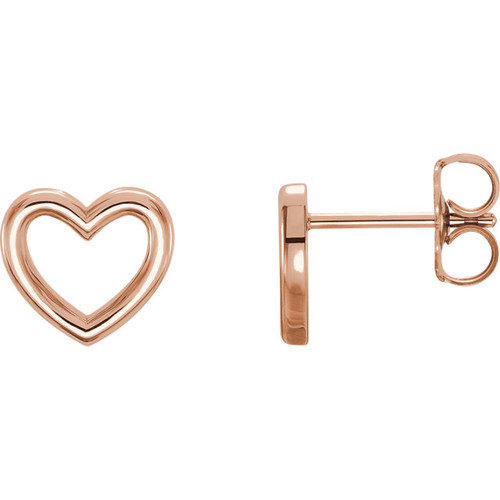 Classic Heart Shape Earrings