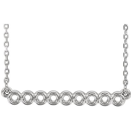 Circle Bar Necklace