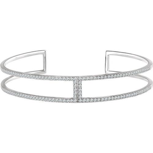 0.75 Ct Tw Diamond Cuff Bracelet