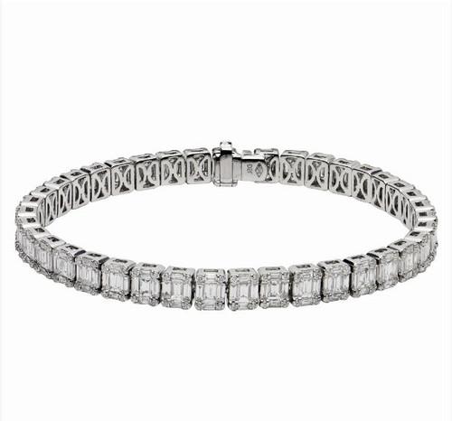 7.17 Ct Tw Diamond Bracelet
