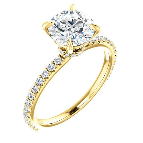 Diamond Engagement Ring, 1.9 ct tw
