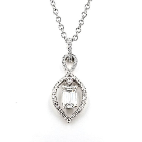 0.82 Ct Tw Diamond Necklace