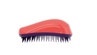 Dessata - Colours - Original Detangling Brush - Coral-Purple