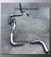 00-05 Dodge Neon Exhaust Tubing - 2.5 Inch Stainless