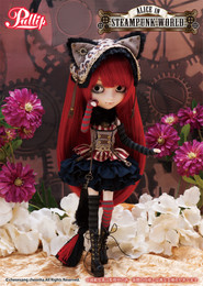 P-183 Pullip Cheshire Cat in Steampunk World