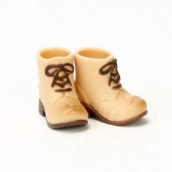 OBITSU BODY ACCESSORY - Obitsu Body 11cm Short Boots - Warm Beige