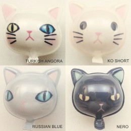 Miniature Balloon (Cat Shape Vol 1) for Dolls  / Figures Decoration