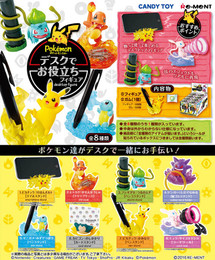 Re-Ment - Pokemon - Desk de Oyakudachi Figure 8 Pcs Box