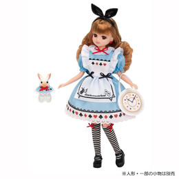 Licca-Chan Dress: LW-14 Licca-Chan Alice in Wonderland Dress Set