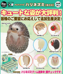 PUTITTO series - Hedgehog (12 Pcs Box)