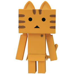 Kaiyodo Sofubi Toy Box 006B Nyanboard - Tabby