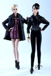 Nu. Face 2015 W Club Exclusive - Never Ordinary Lilith and Eden Dressed Duo-Doll Gift Set