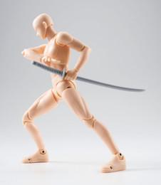S.H.Figuarts - Body-kun DX Set (Pale orange Color Ver.)