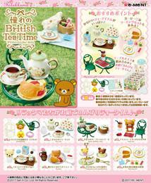 Re-Ment - Relex - Rilakkuma Akogareno British Tea Time 8 Pcs Box