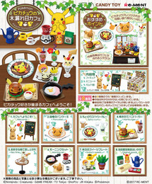 Re-Ment - Pokemon - Pikachu no Komorebi Cafe 8 Pcs Box