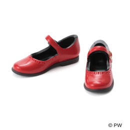 PetWORKs Closet - Classical Strap Shoes Enamel Red