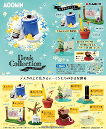 Re-Ment - Moomin - Desk Collection 8 Pcs Set