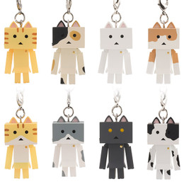 Nyanboard Figure Strap 8 Pcs Box