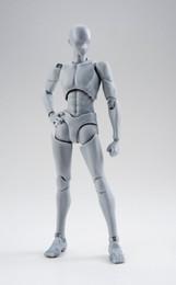 S.H.Figuarts - Body-kun Rihito Takarai Edition DX Set (Gray Color Ver.)