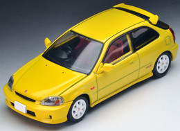 *Pre-order due date: 2017/11/29 - Tomica Limited Vintage NEO LV-N165a Civic Type R '99 (Yellow) PRE-ORDER