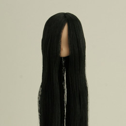 OBITSU BODY 11 - Head Part with Rooted Hair (Black) for 11 cm body (Natural Skin)