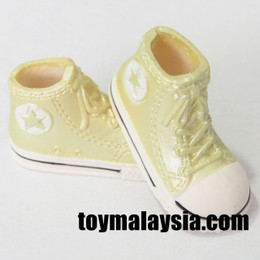 Doll Sneakers ( Light Yellow)