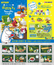 Re-Ment - Moomin - Moomin Nordic Cafe 8 Pcs Set