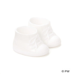 PetWORKs Closet - DecoNiki Shoes, Sneakers, Enamel-White