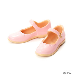 PetWORKs Closet - Classical Strap Shoes Pink x Beige Sole