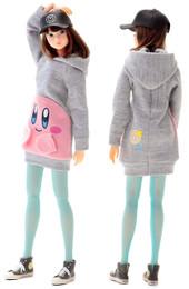 *Pre-order due date: 2018/08/14: Sekiguchi momoko DOLL  Kirby Hoodie PRE-ORDER