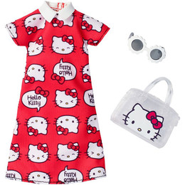 Barbie® Hello Kitty® Red Dress Fashion