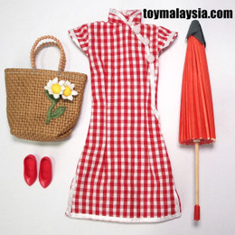 1/6 Cheongsam dress set C
