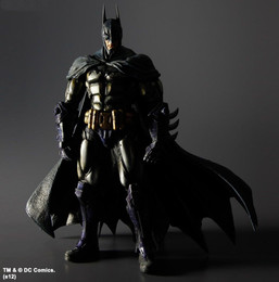 Square Enix Batman Arkham Asylum Play Arts Kai PVC Figure  Batman Armored