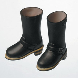 OBITSU BODY ACCESSORY - Obitsu Engineer Boots, Female, 1/6 - Black