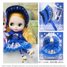 Junie Moon Dolly Wear Day Dream Carnival Set (Navy)