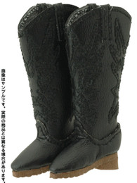 Western Boots II (Black Color)