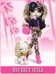 Pinkie Cooper Travel Collection Doll With Pet - Beverly Hills
