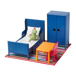 IKEA HUSET Doll's Furniture, Bedroom