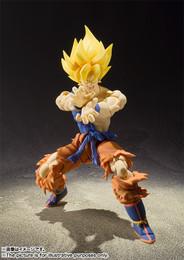 S.H.Figuarts Dragonball Series - Super Saiyan Son Goku Super Warrior Awakening Ver. PVC Figure