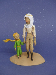 """The Little Prince"" Little Prince & Aviator Figure"