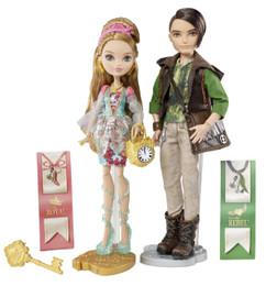 Ever After High Ashlynn Ella & Hunter Huntsman Doll Pack